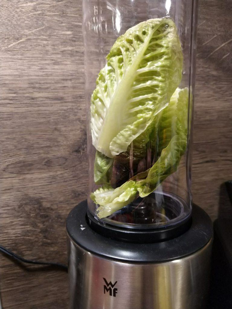 Frische Salatblätter