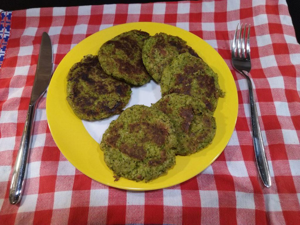 Vegane Brokkoli Burger