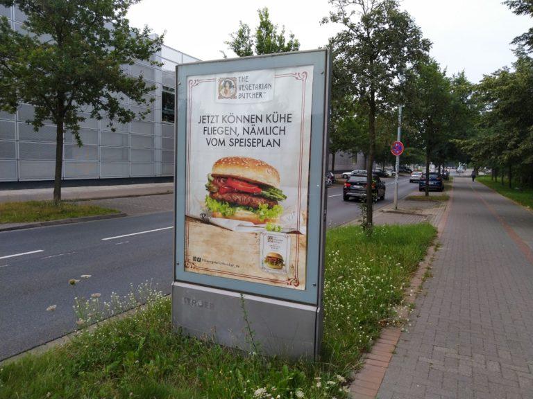 Werbeplakate Sieht Chick aus Burger