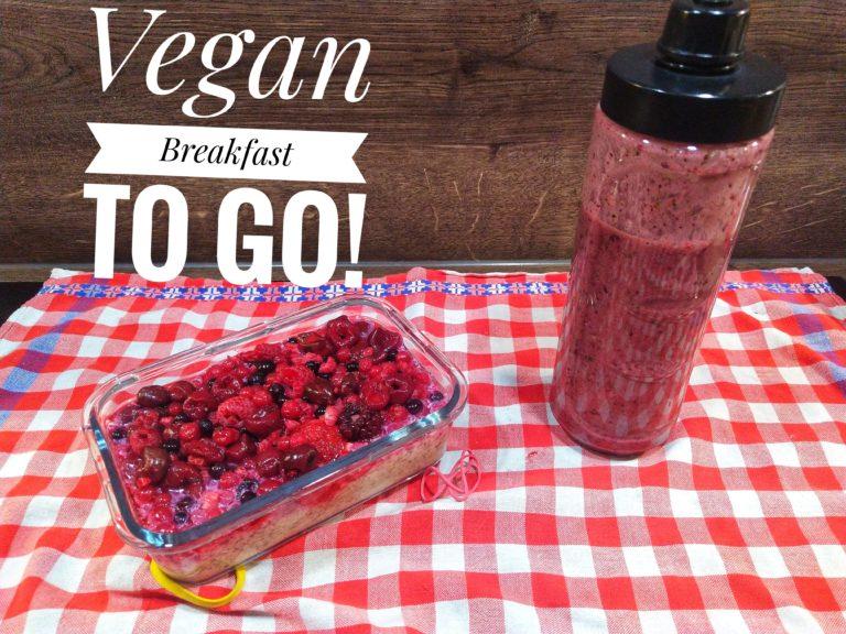 veganes fitness frühstück