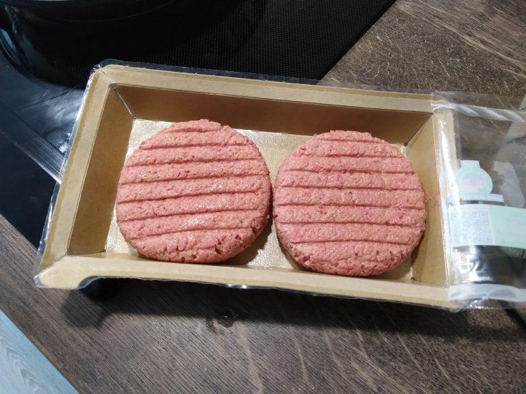 Vemondo Vegane Burger in Pappschachtel